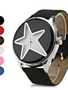 Women's Star Style PU Leather Analog Quartz Wrist Watch (Assorted Colors) Cool Watches Unique Watches