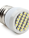 60-80 lm E26/E27 LED Spotlight 24 leds SMD 3528 Natural White AC 220-240V