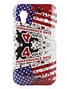 Independence July Pattern Hard Case for Samsung Galaxy Ace S5830 (Red)