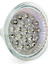 1 W 60-80 lm GU10 / GU5.3 (MR16) LED-spotlampen MR16 21 LED-kralen Dip LED Warm wit / Natuurlijk wit 12 V