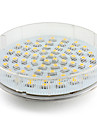 1pc GX53 3.5 W 300-350 lm LED Spotlight 60 LED Beads SMD 2835 Warm White / Cold White / Natural White 220-240 V