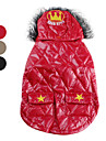 Quilted Hoodie Waist Coat with Pockets for Dogs (XS-XL, Assorted Colors)