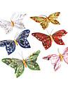 décorative beau papillon magnétique (couleurs aléatoires)