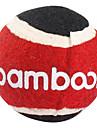 Chiens Jouets pour Animaux Balle / Jouets de mastication Tennis Rouge Tissu