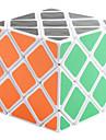 WTS huit axe cerveau Hexahedron Teaser IQ Cube Puzzle Magic (blanc)