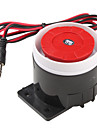 120dB Alto Alarme Sirene Buzzer Speaker Horn (Black & Red, 6 ~ 16V)