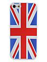 아이폰 5/5S를위한 영국 국기 패턴 소프트 케이스