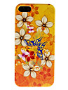 Beautiful Butterfly and Flower Pattern Hard Case for iPhone 5/5S