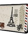 Etui Motif Carte Postale Paris pour MacBook Air Pro/HP/DELL/Sony/Toshiba/Asus/Acer