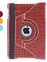 krokodillenleer pu lederen case w / stand voor iPad mini 3, ipad mini 2, ipad mini (verschillende kleuren)