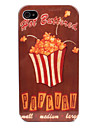 Popcorn Pattern Hard Case for iPhone 4/4S