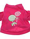 T-shirt-Chien-Eté-RoseCoton