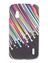 Caso estrelas Padrão macio para LG E960 Nexus 4