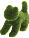 Grass Land Handmade Animal Cat with Artificial Turf