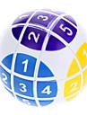 6cm numérique Magic Ball Puzzle (Blanc)