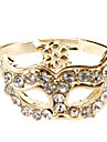 Ring Daily Jewelry Alloy Women Band Rings 1pc,8 Gold Silver