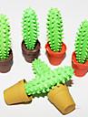 Cactus en forma de goma de borrar (Color 2 piezas al azar)