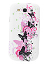 Butterfly Pattern Soft TPU Case for Samsung Galaxy S3 I9300