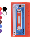 Retro Cassette Style Protective Silicone Back Case for Samsung Galaxy Note 2 N7100 (Assorted Colors)