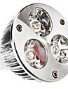 Светодиодные лампы, теплый белый свет, MR16 (GU5.3) 3.5W 240LM 3000K (12)