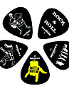 Kavaborg - Padrão Forma Guitarra Picks/12-Pack (Rock & Roll de Design)