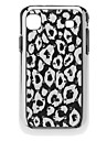 Leopard Pattern Hard Case with Rhinestone for Samsung Galaxy S I9000