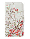Flower Pattern Full Body Case for iPhone 4/4S