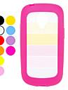 삼성 갤럭시 S3 미니 I8190 (분류 된 색깔)를위한 다채로운 투명한 디자인 단단한 케이스