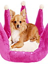 Graceful Crown Shape Dog Bed 45x45cm (Assorted Colors)