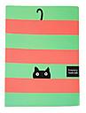 Полоса Cat творческая ноутбук (случайный цвет)