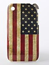 Etui Rigide Motif Drapeau USA pour iPhone 3G/3GS - Multicolore