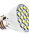 E26/E27 LED Spotlight MR16 21 SMD 5050 240lm Natural White 6500K AC 110-130 AC 220-240V
