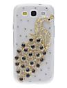 For Samsung Galaxy Case Rhinestone / Pattern Case Back Cover Case Animal PC Samsung S3