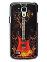 Fashion Guitar Pattern Aluminum Hard Case for Samsung Galaxy S4 mini I9190
