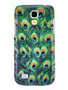 Назначение Кейс для  Samsung Galaxy Чехлы панели С узором Задняя крышка Кейс для Животное PC для SSamsung Galaxy S4 Mini