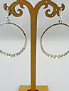 Earring,Hoop EarringsJewelry Alloy Gold Party / Daily