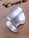 Women's Silver Plated Alloy Band Ring - Fashion Silver Ring For Daily
