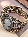 Queen Avatar Retro Carved Hollow Metal Bracelet B160