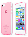 Detachable  Pc Frame  Phone Protetive With Semi-Transparent Tpu Case Cover For Iphone 5C