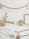 Versão coreana do diamante cheio do amor Ballet Shoes Pulseira B181