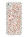 perle de mer de cas de dos fleur pour l'iphone 5/5s
