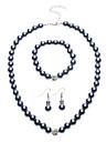 Bijoux-Colliers décoratifs / Boucles d'oreille(Perle / Cristal)Soirée Cadeaux de mariage