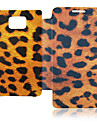 Leopard Leather Case for Samsung Galaxy S2 I9100