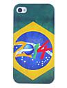 iPhone 4/4S를위한 2014 브라질 축구 본 단단한 케이스