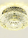 Modern/Contemporary Crystal Mini Style LED Flush Mount Downlight For Living Room Bedroom Bathroom Kitchen Dining Room Study Room/Office