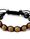 Žene Strand Narukvice Silver Bracelets - Umjetno drago kamenje dame Narukvice Jewelry Crn / Crvena / Zelen Za Kauzalni