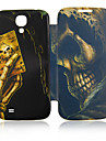Poker Skull Leather Case for Samsung Galaxy S4 I9500