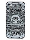 Capa Olho e Padrão Abstrato para iPhone 4/4S