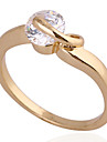 (1 pieces)Classic Women's Transparent Zircon Rings (5#,6#,7#,8½#)