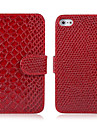Snakeskin Shape Leather Case for iPhone 4/4S